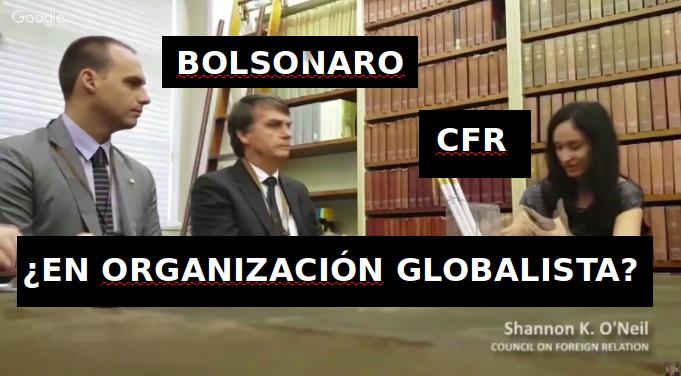 bolsonaro globalista