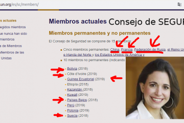 María Corina Machado es o se hace