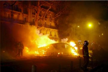 Paris violencia